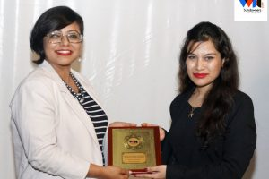 Honored by WDC for being the esteemed speaker